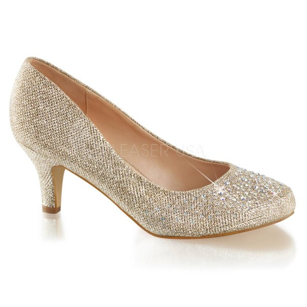 DORIS 06 ° Damen Pumps ° Beige Matt ° Fabulicious