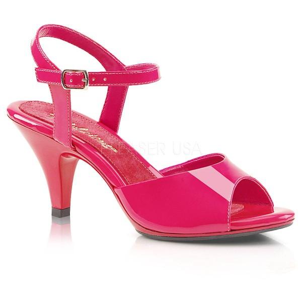BELLE 309 ° Damen Sandalette ° PinkGlänzend ° Fabulicious