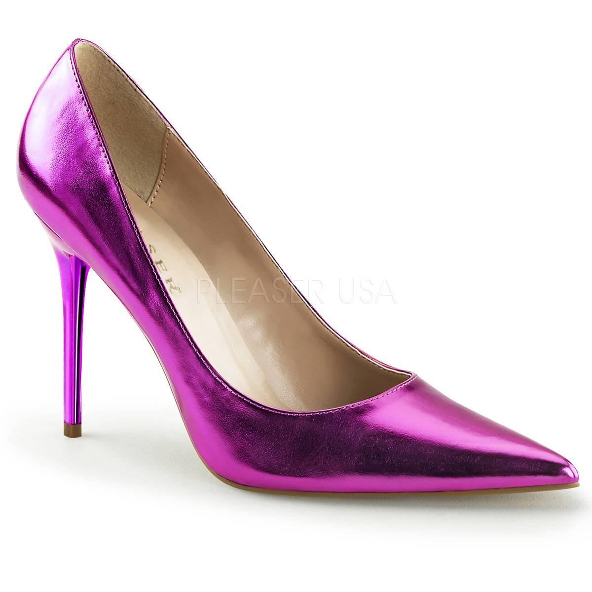 Pumps für Frauen - CLASSIQUE 20 ° Damen Pumps ° ViolettMatt ° Pleaser  - Onlineshop RedSixty