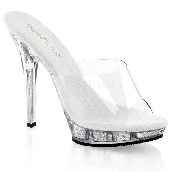 LIP 101 ° Damen Sandalette ° Transparent Matt ° Fabulicious