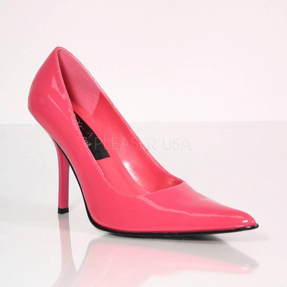 Pumps - FOXY 01 ° Damen Pumps ° Pink Glänzend ° Pleaser  - Onlineshop RedSixty