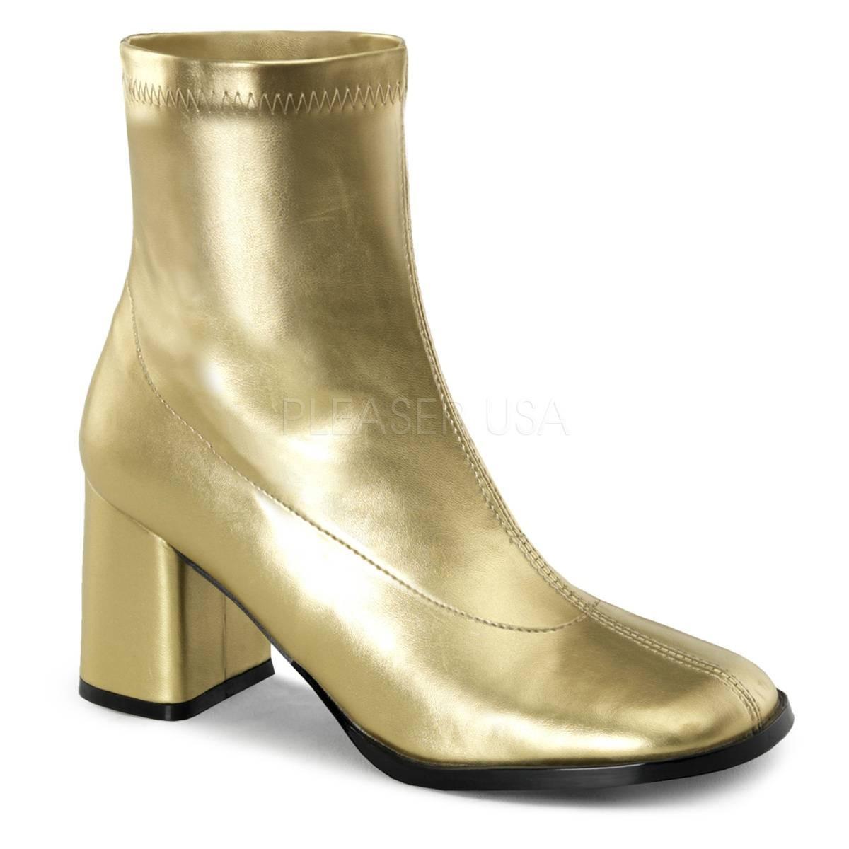Stiefel - GOGO 150 ° Damen Stiefelette ° GoldMatt ° Funtasma  - Onlineshop RedSixty