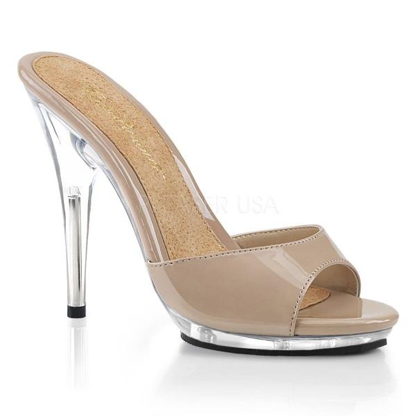 POISE 501 ° Damen Sandalette ° ElfenbeinGlänzend ° Fabulicious