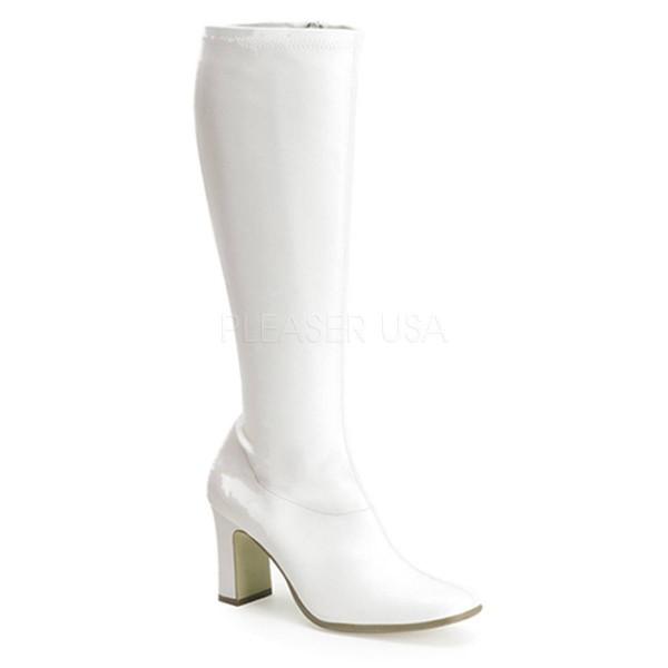 KIKI 350 ° Damen Stiefel ° Weiß Matt ° Funtasma